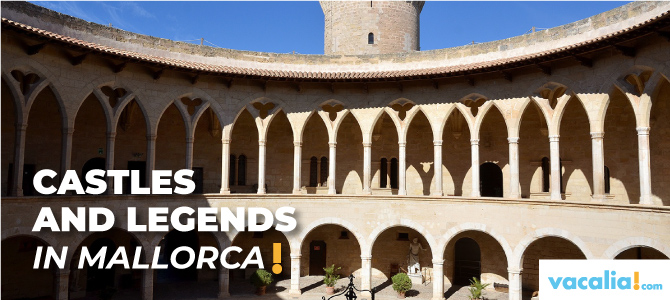 Castles and legends: four routes through the majorcan defensive architecture history