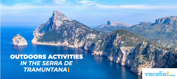 Outdoors activities in the Serra de Tramuntana in Majorca