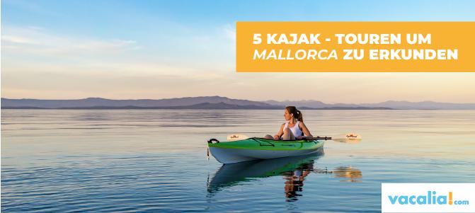 Kajak auf Mallorca