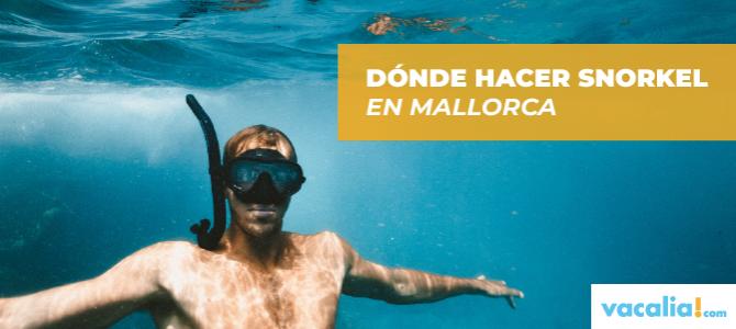 Dónde hacer snorkel en Mallorca