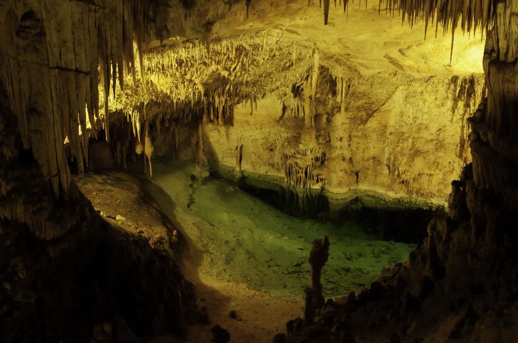 Die Drachenhöhlen auf Mallorca sind weltberühmt