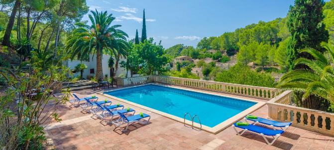 Schöne Fincas auf Mallorca für 8 Personen