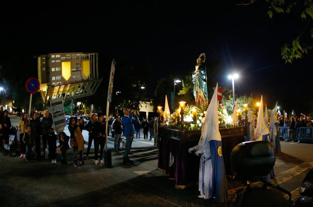 Die Osterprozessionen auf Mallorca tauchen die Straßen in eine andächtige Stimmung